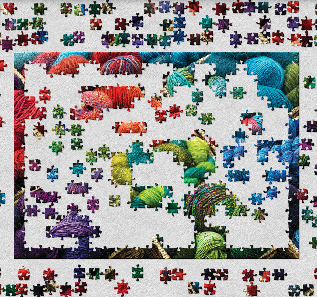Lose all sense of time in the jigsaw dimension