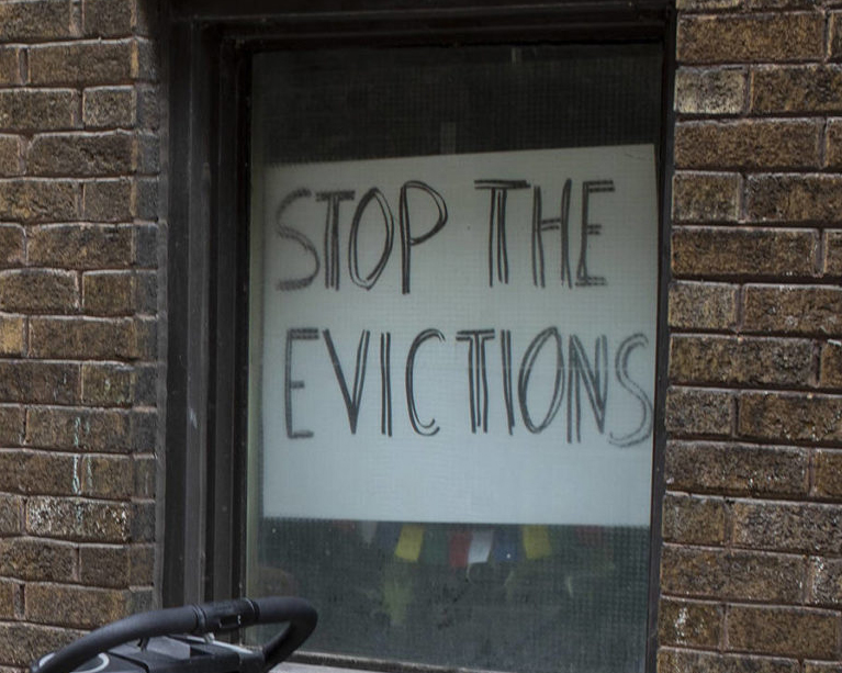 Lax commercial landlords can't evict